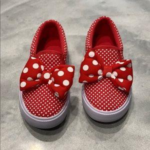 NWOT Girls Disney Slip on Shoe Sz toddler 13/1